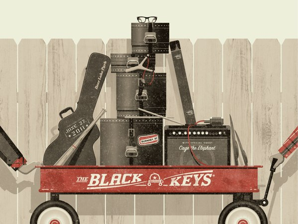 The Black Keys by DKNG Studios