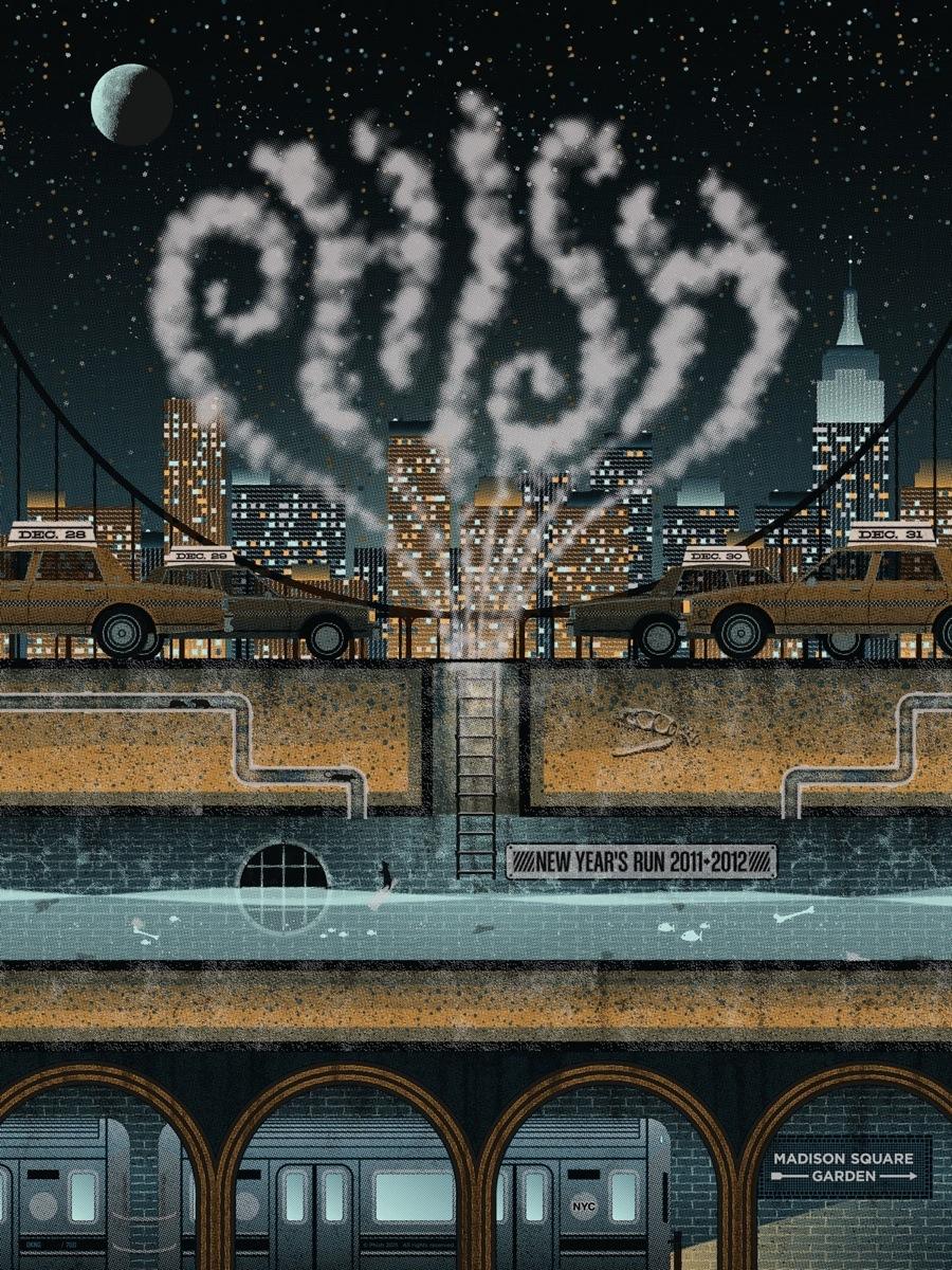 Phish NYE by DKNG Studios