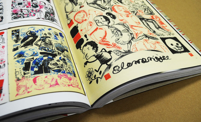 Comics Sketchbooks: The Unseen World of Today's Most Creative Talents - Pages